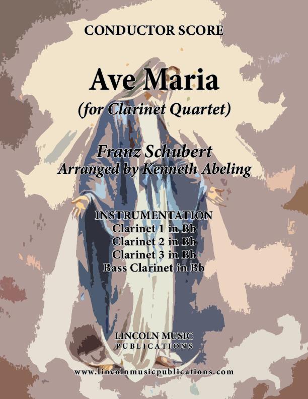 Ave Maria (for Clarinet Quartet)