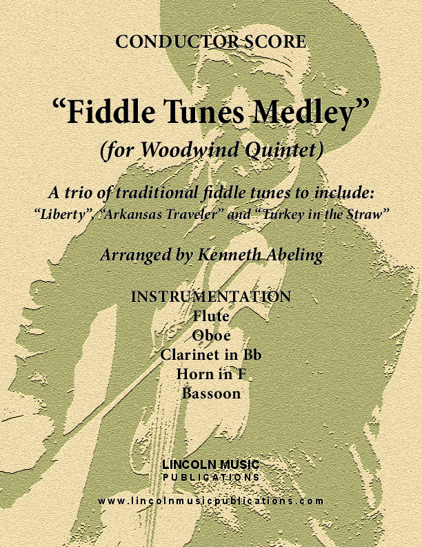 Fiddle Tunes Medley (for Woodwind Quintet)