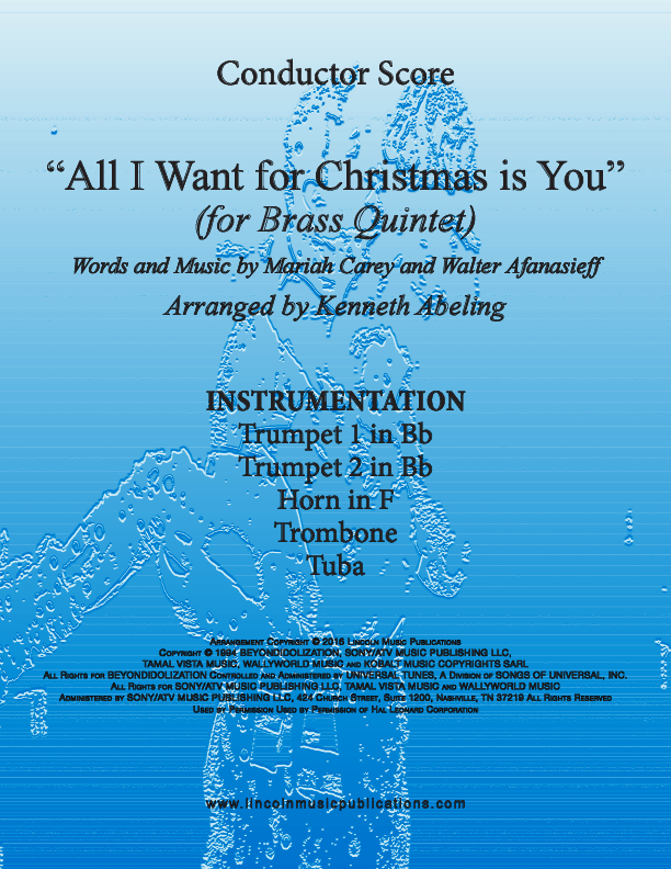 all i want for christmas is you for brass quintet - All I Want For Christmas Is You Youtube
