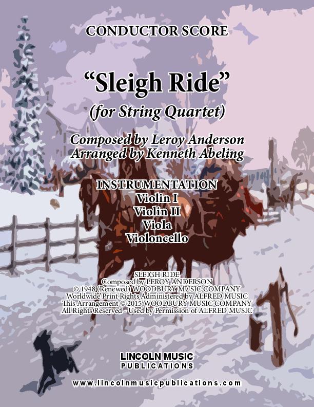 Sleigh Ride (for String Quartet)